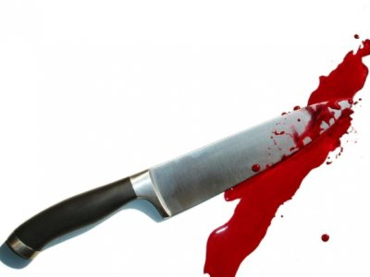 A vicious knife crime.