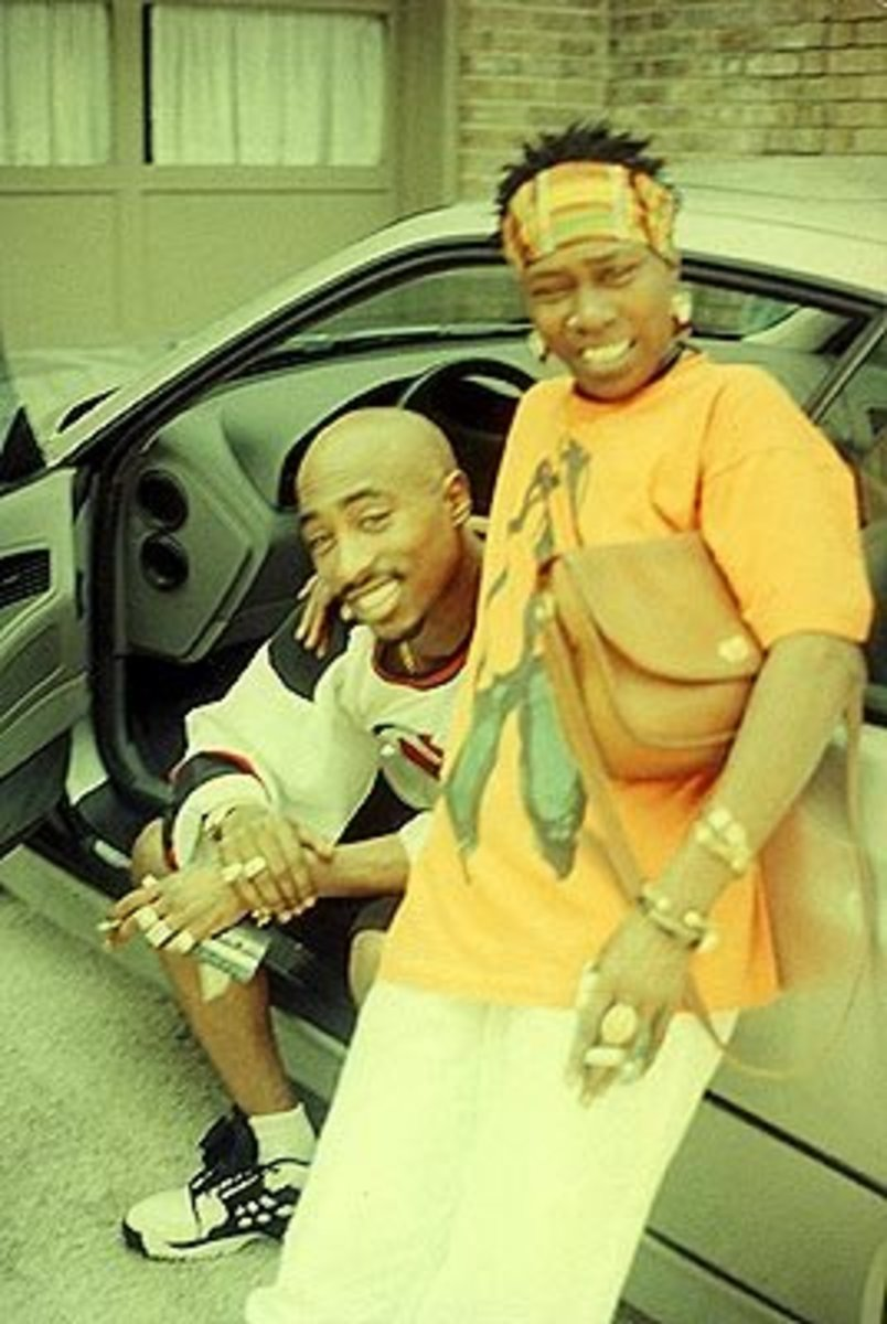 Afeni Shakur and Tupac