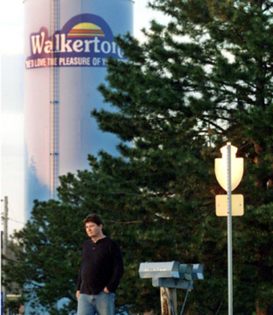 Walkerton's water tower