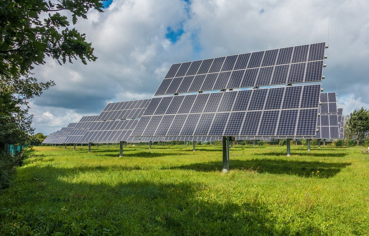 Solar panels can passively generate electricity from the sun.