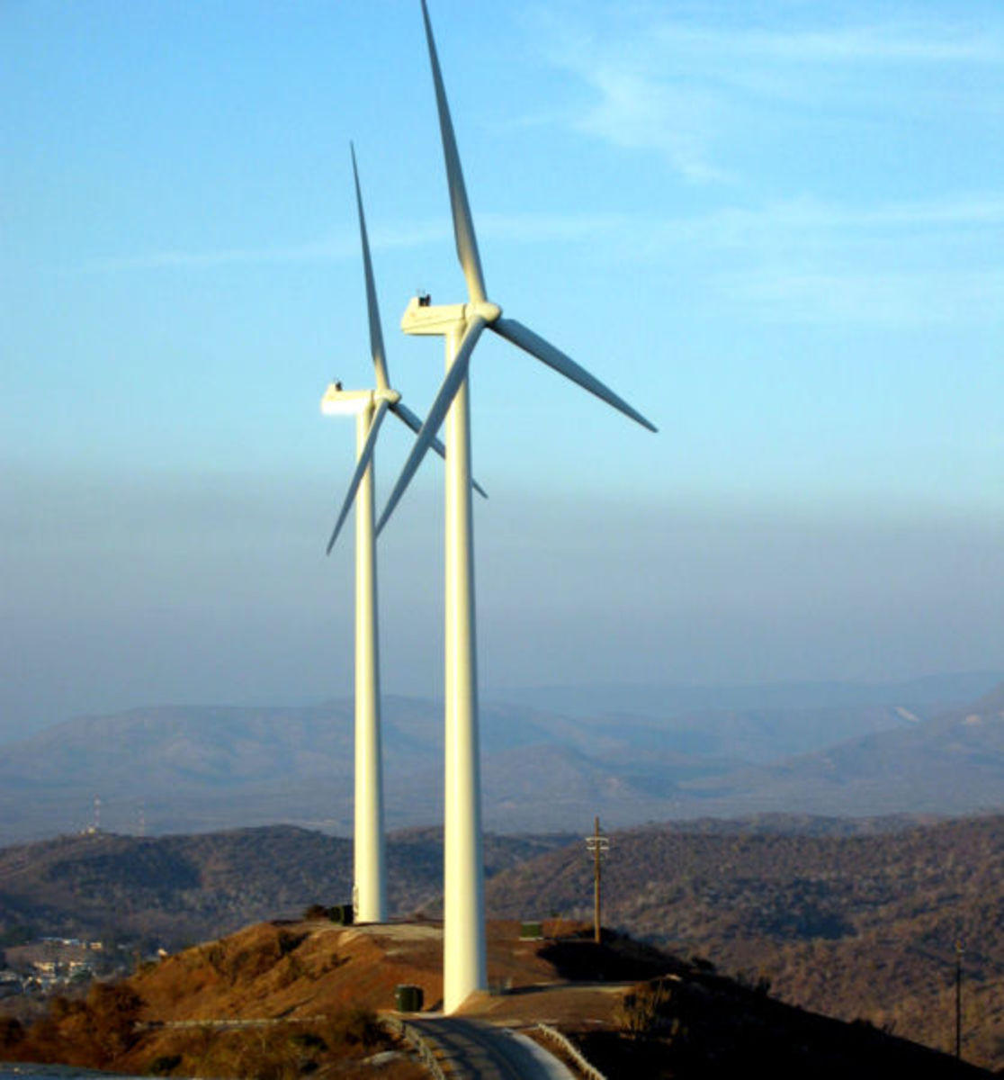 Wind energy has a somewhat promising future. These devices are green, however they are highly unreliable and inefficient.