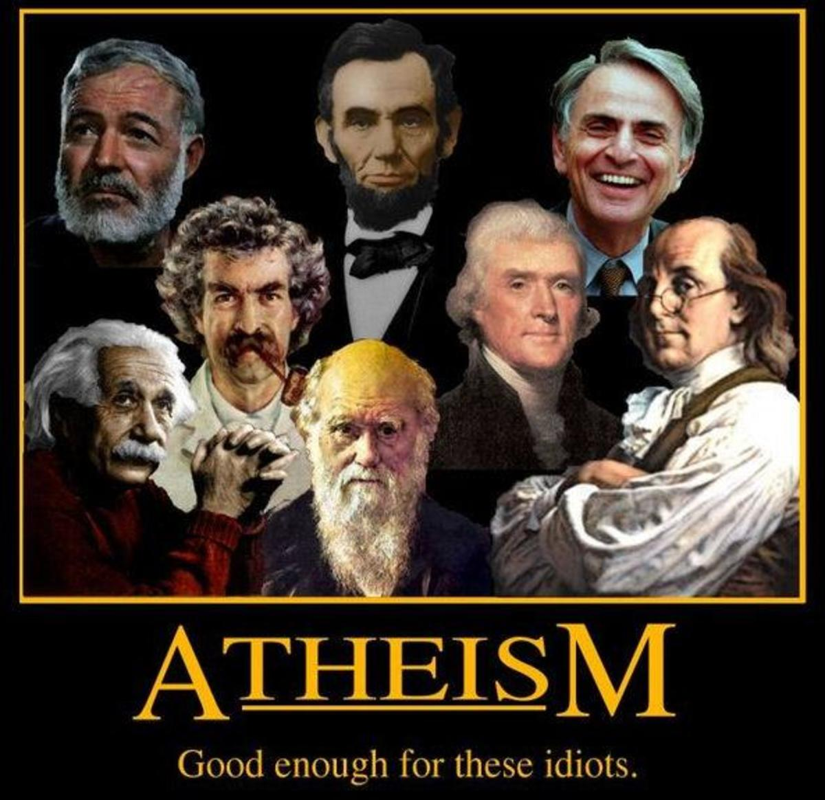 Top 10 Myths and Fallacies About Atheism