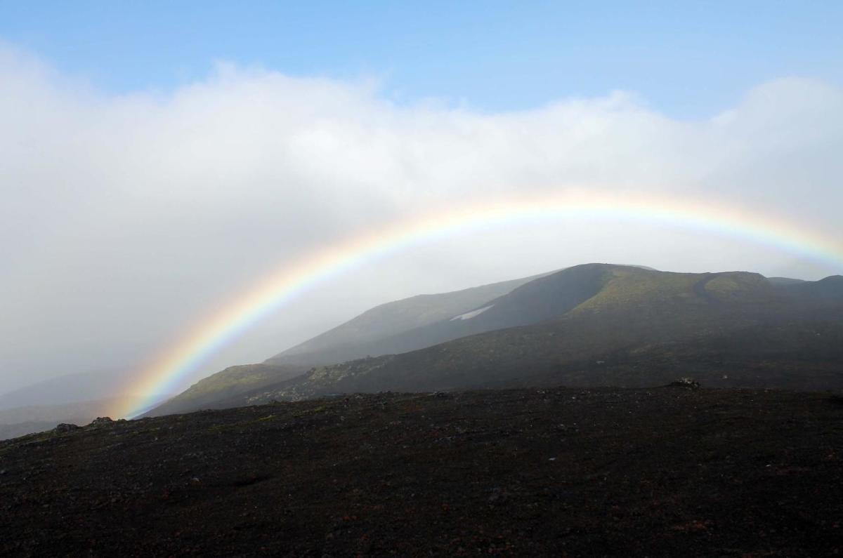 Rainbows Over Iceland