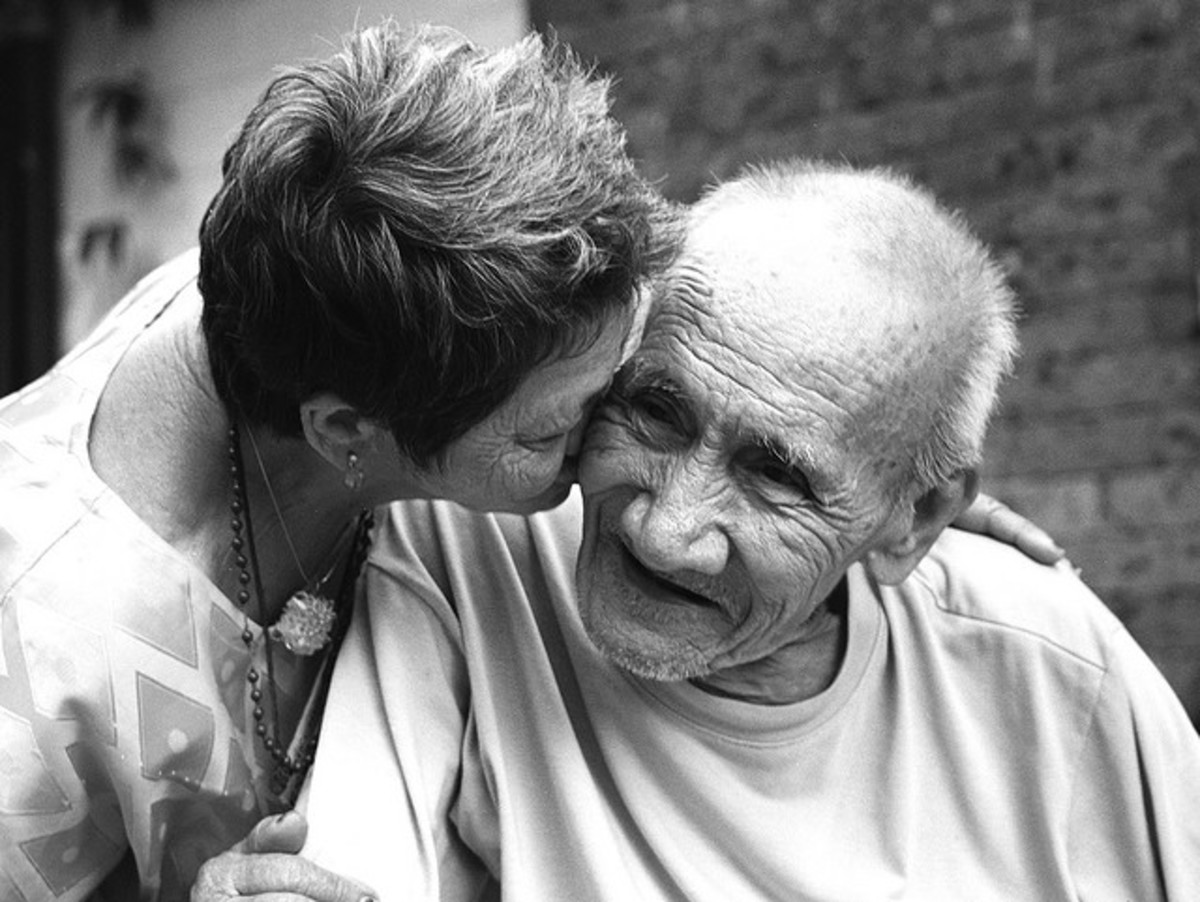 Love is not just for young people.