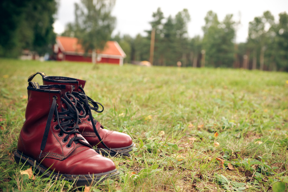 Doc Marten's are the preferred boots among skins.