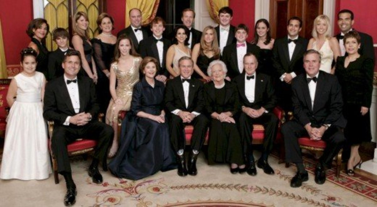 The Children of George and Barbara Bush              January 6, 2005