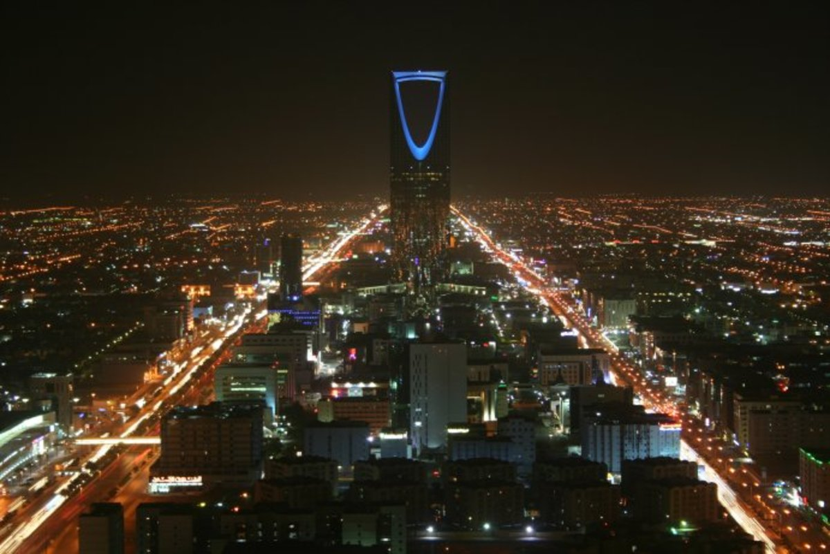 The Saudi Arabian capital, Riyadh is only prosperous because of its vast oil reserves. Saudi is the largest oil exporter in the world.