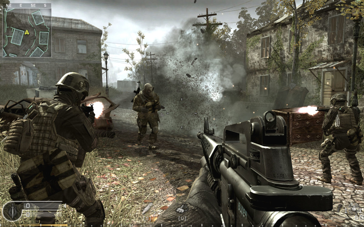 The US Army has gotten into the action and is now using it's official video game as a possible recruiting method, marketing it to teens.