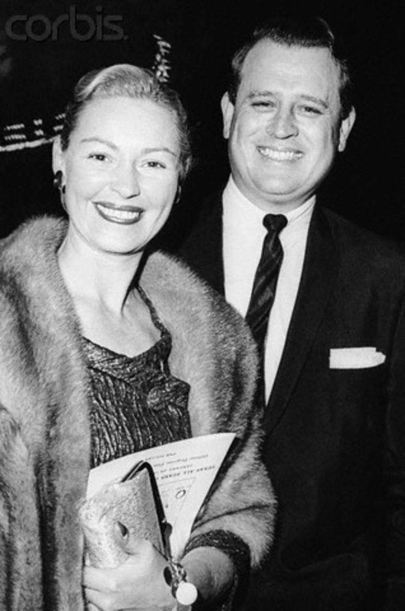 Joan Robinson Hill and her husband, Dr. John Hill