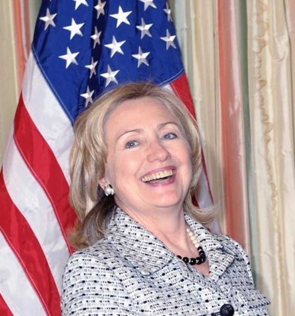 Hillary used a private account to hide emails from the American people.