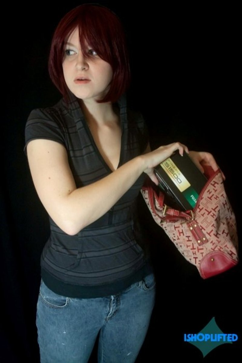 Handbags are always a popular place to conceal merchandise.