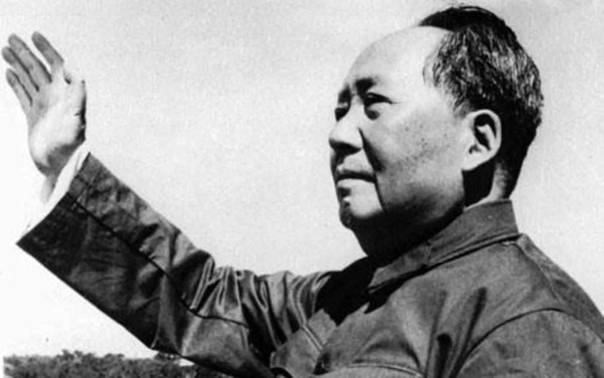 Mao Tse-Tung, Atheist, Gun Control Advocate, Mass Murderer