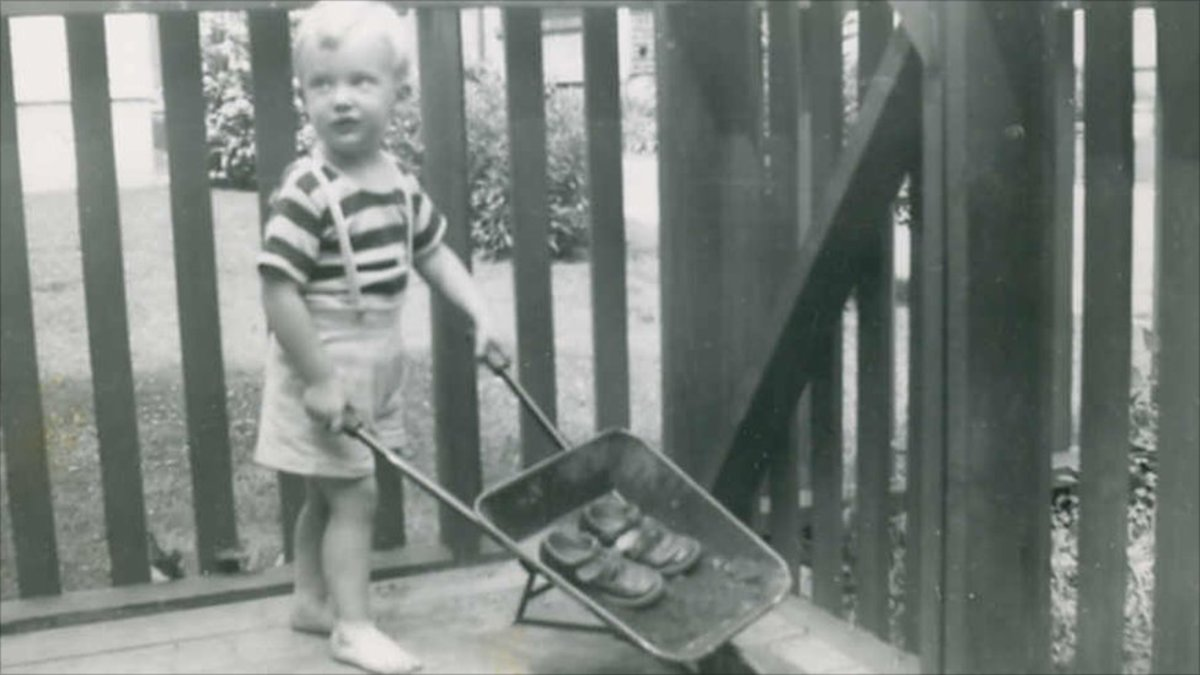 Young Donald Trump in His Earliest Development Project