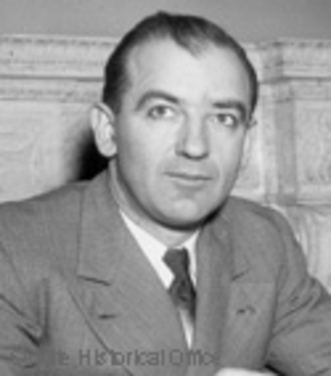 Senator Joseph McCarthy (R-WI)
