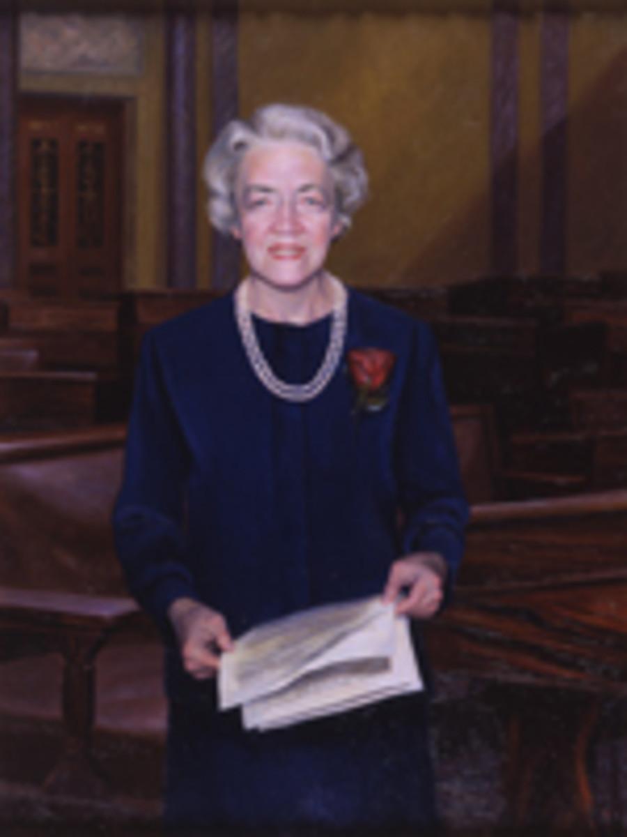 Senator Margret Chase Smith (R-ME)