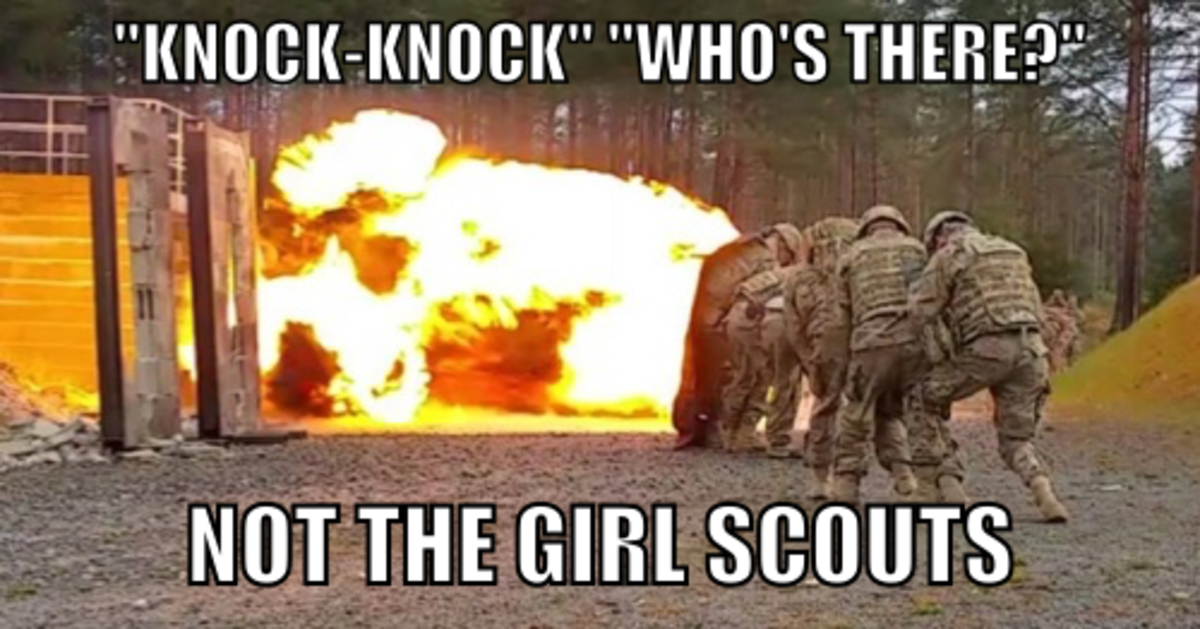 Not the girl scouts