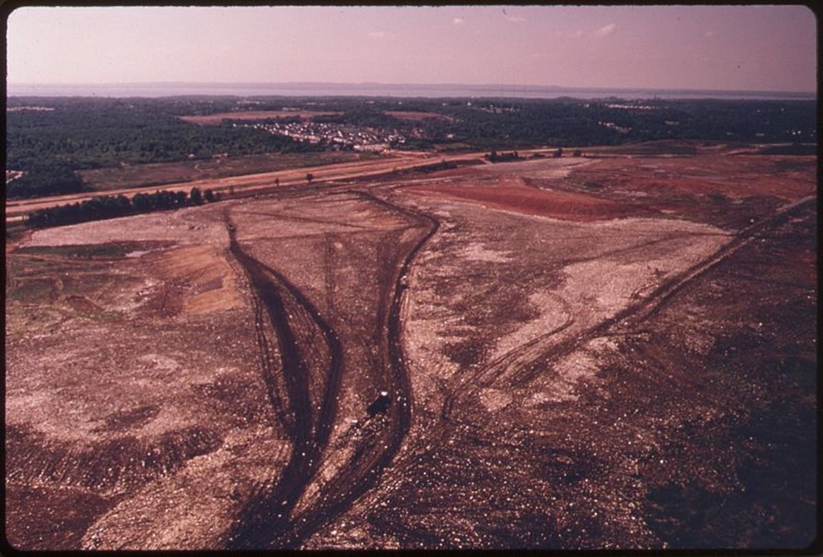 Groundwater Polluting Landfill