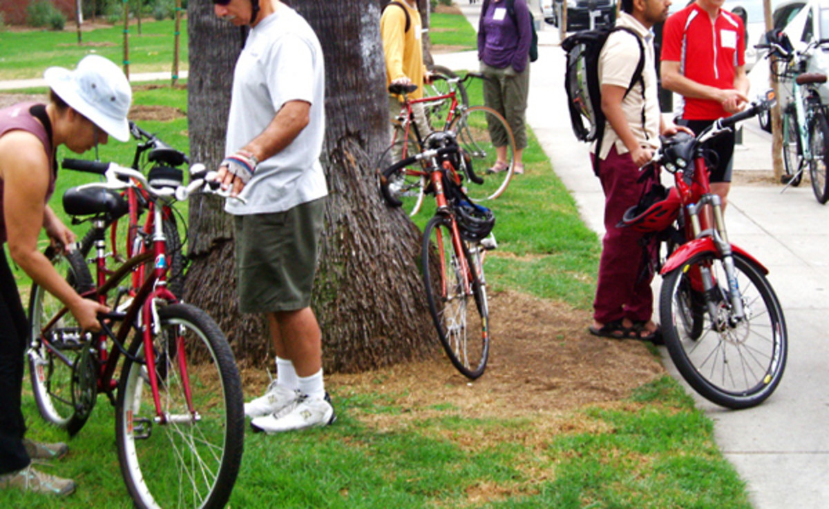 Bicycling more increases human health and the health of the planet too.