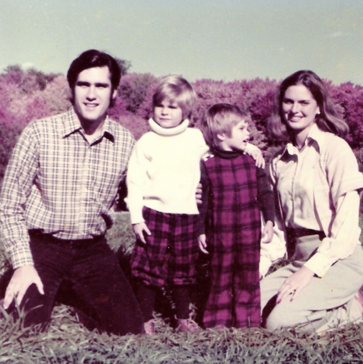 Typical down to earth Romney Photo Long Before His Political Run