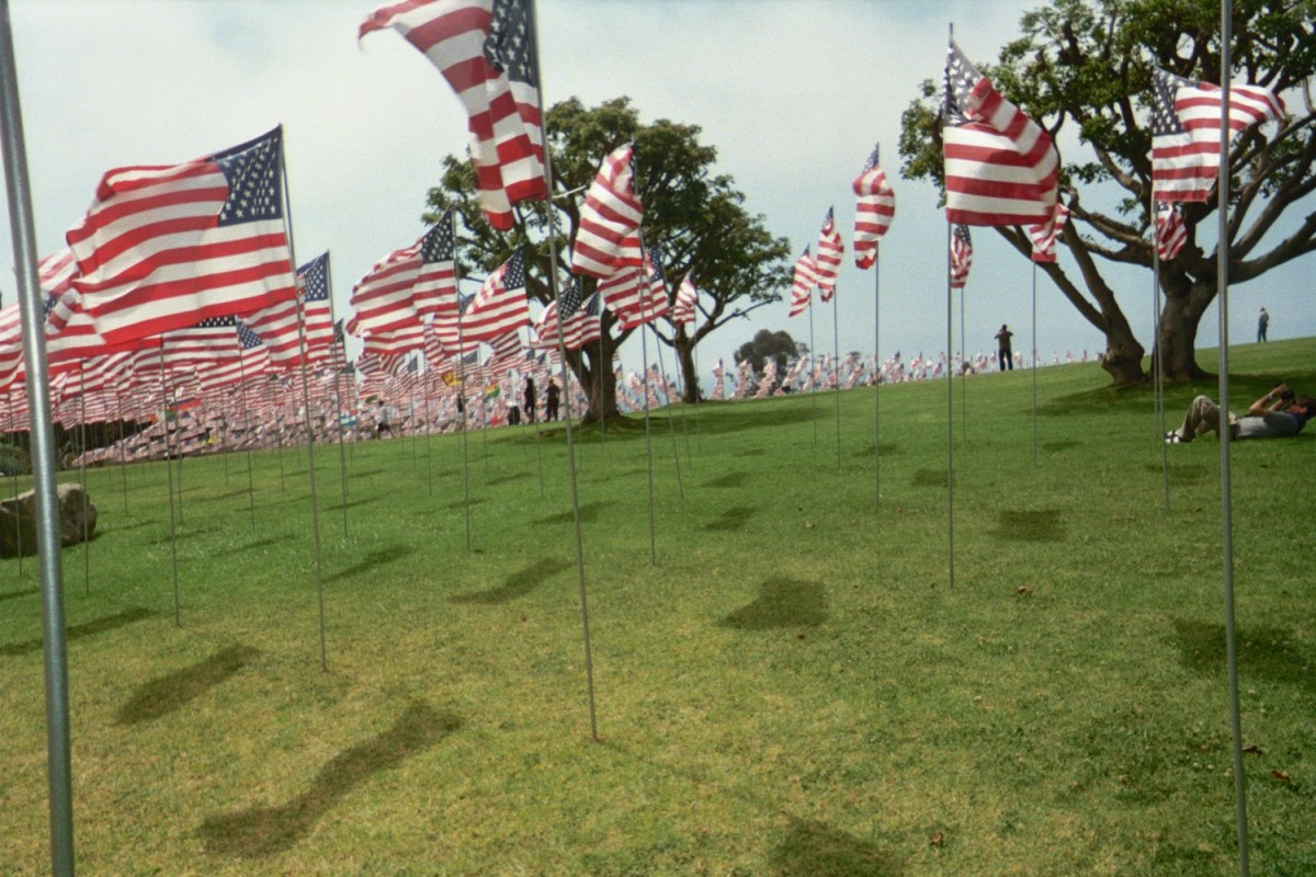 9/11 memorial at Pepperdine University in Malibu Ca on 9/11/2010 by Gilbert Mercier