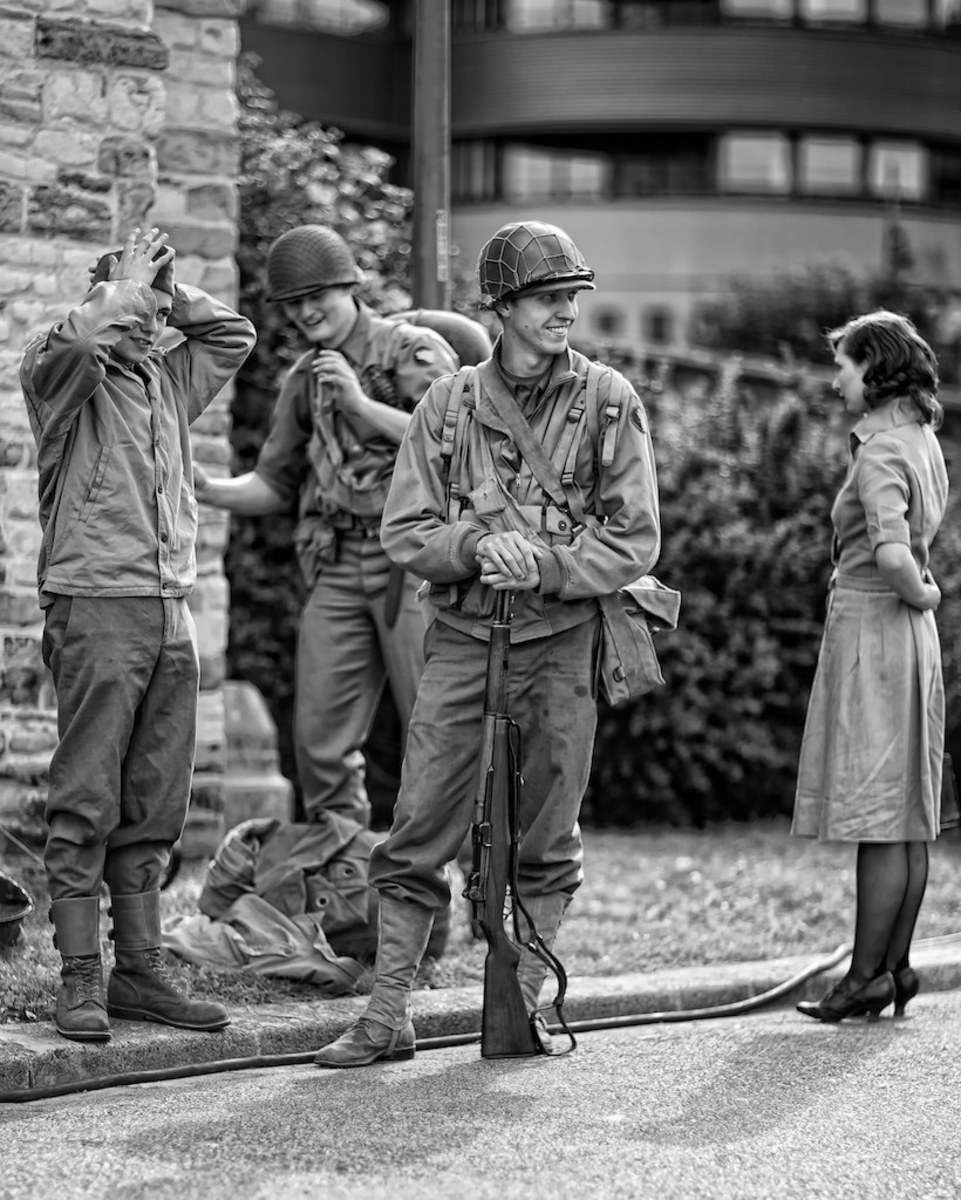 Shot at the 66th Memorial of the liberation of Antwerp by Fouquier