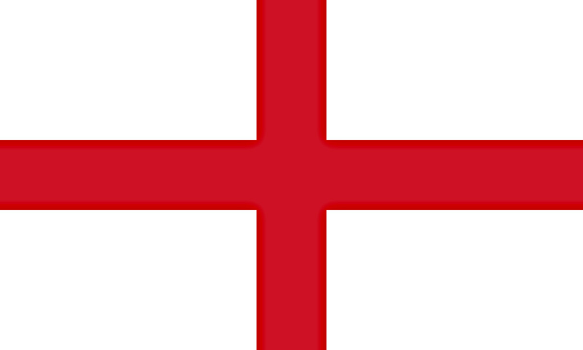 The Flag of England, including Wales - 1543
