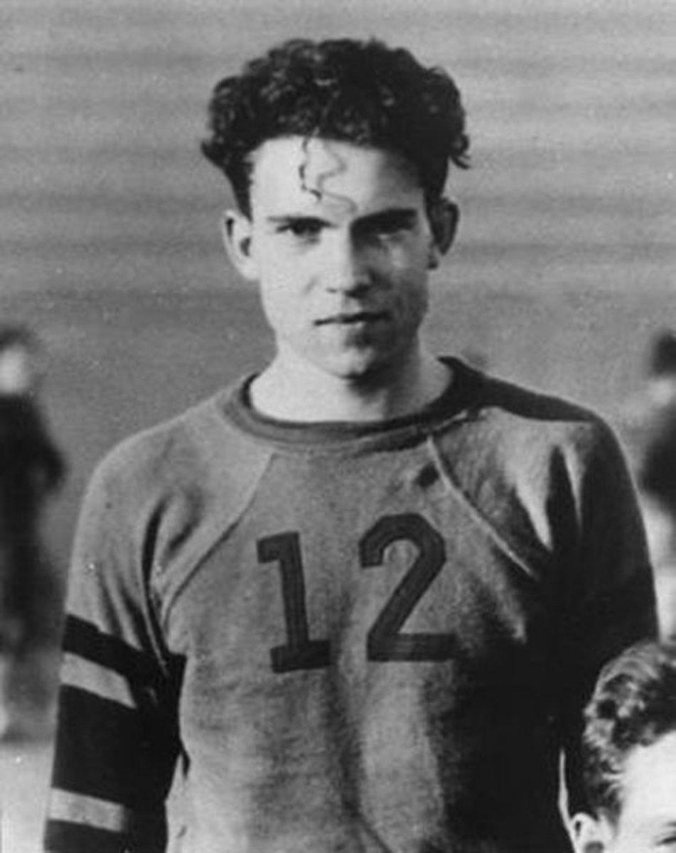 Richard Nixon As A High School Football Player