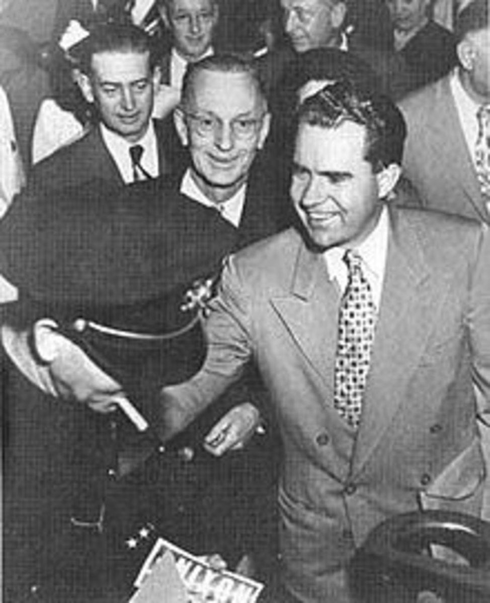 Richard Nixon In 1950 - Running For The U.S. Senate