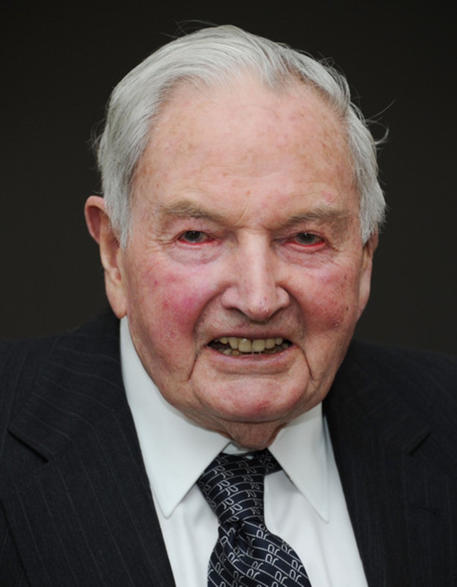 David Rockefeller - A Father of Foulness