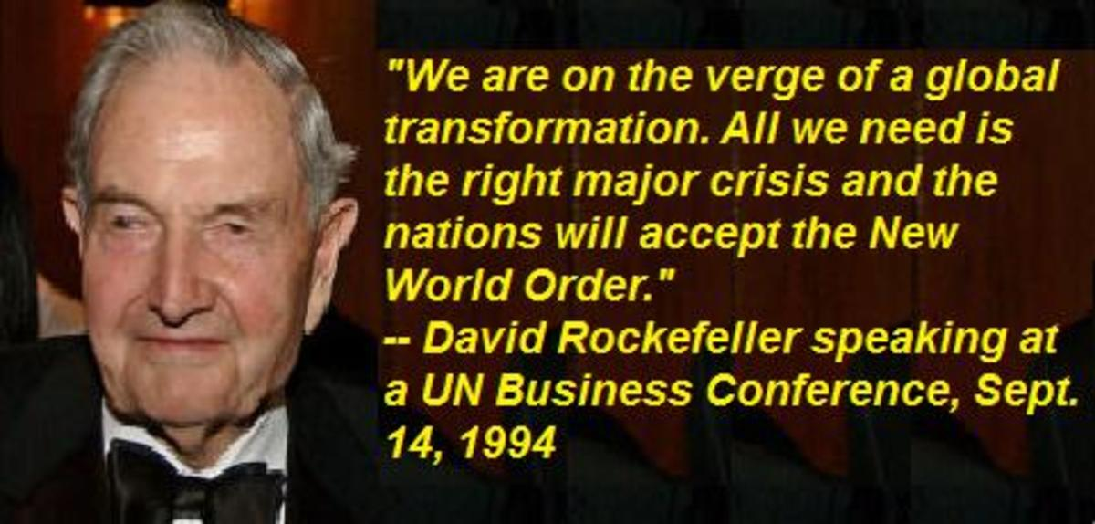 David Rockefeller: Staunch Backer of Global Government