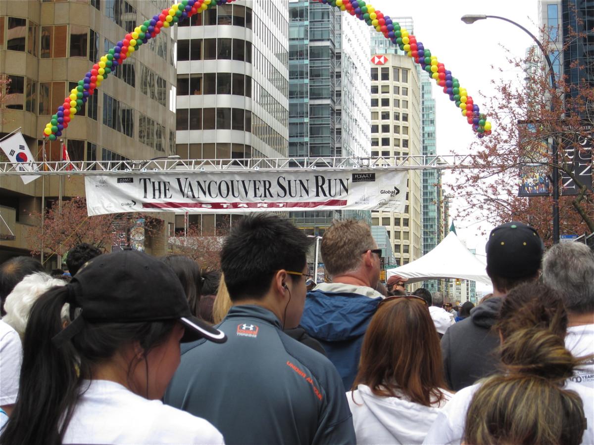 The Vancouver Sun Run - Fitness and Fun in British Columbia