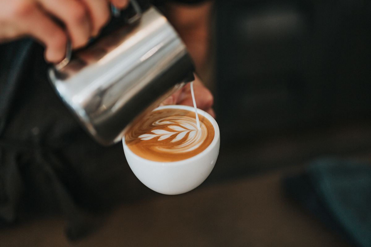 Visiting a coffee shop could be a chance to help others.