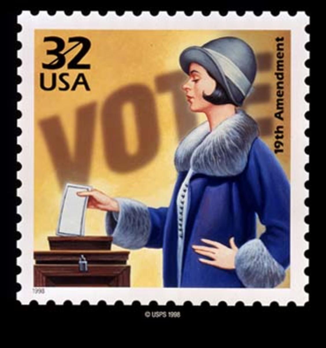 USPS 1998 postage stamp