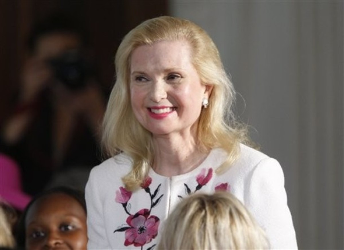 Tricia Nixon at White House Mother's Day Luncheon 2010