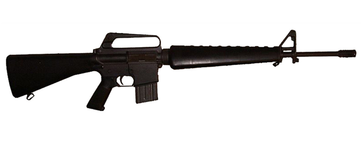1973 Colt AR-15 SP1. The AR-15 is one of the most popular semi-automatic rifles, first offered to the civilian market in 1963. An AR-15 was used in the Newtown massacre, and in the Aurora Colorado Movie Theatre shooting [13][14]