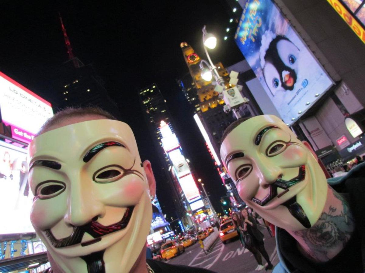 The Occupy movement, which these two protesters took part in, was another story which the media used to further divide the nation in the name of private interests and their bottom line.