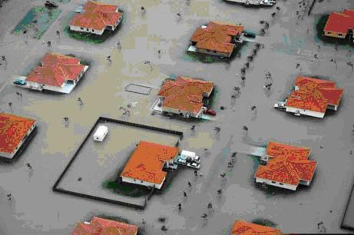 Miami Beach flooding.  Photo courtesy City of Miami Beach.