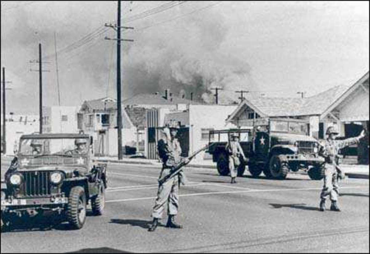 Watts, 1960s