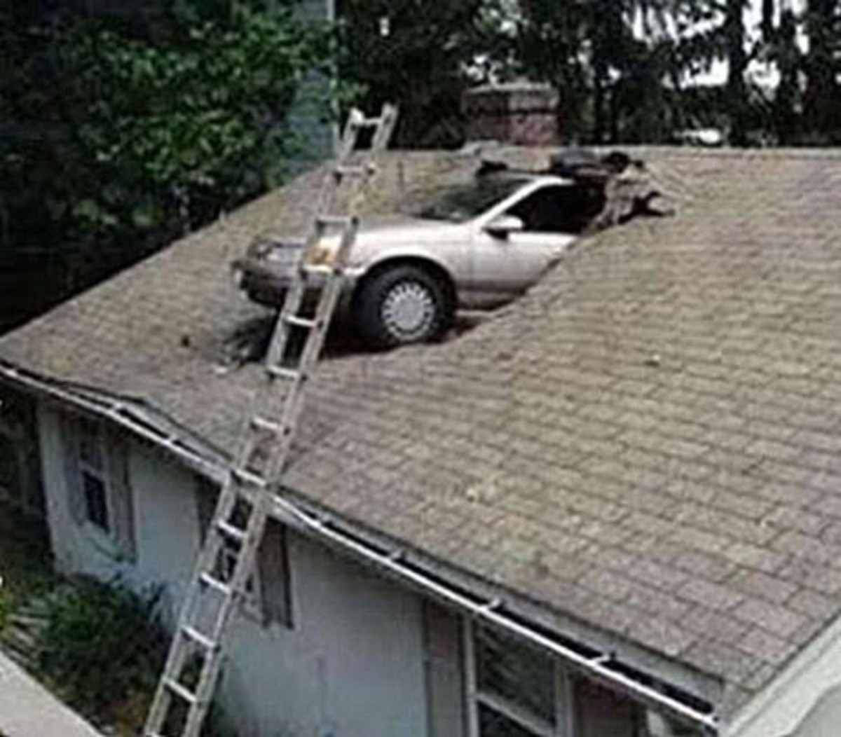 Why did they put this car in the attic in the first place?