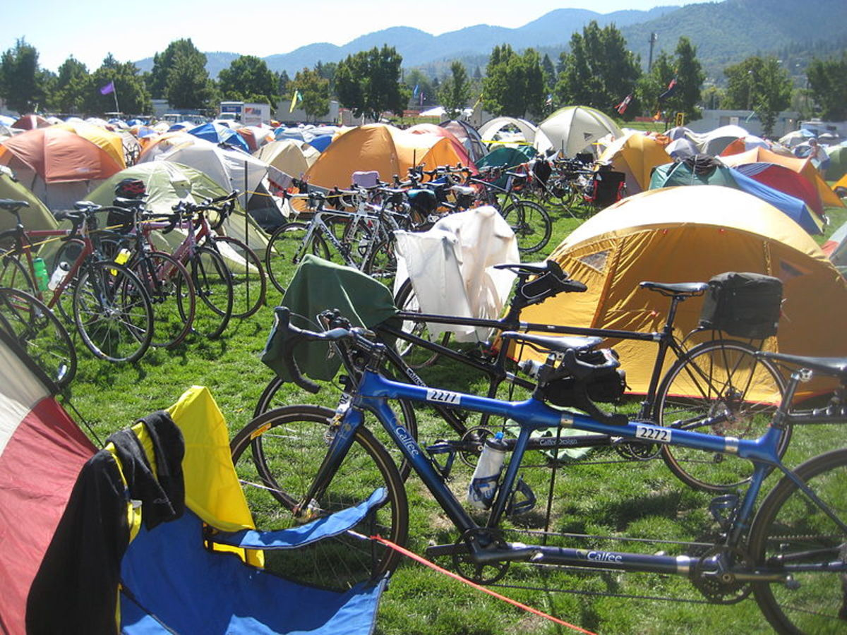 Tent city in Oregon