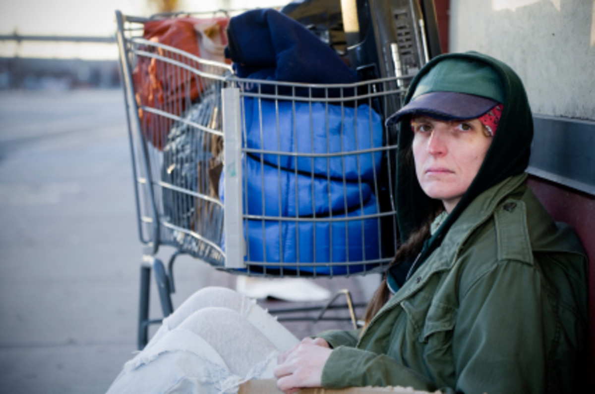 Our veterans come back from war to be jobless and homeless.
