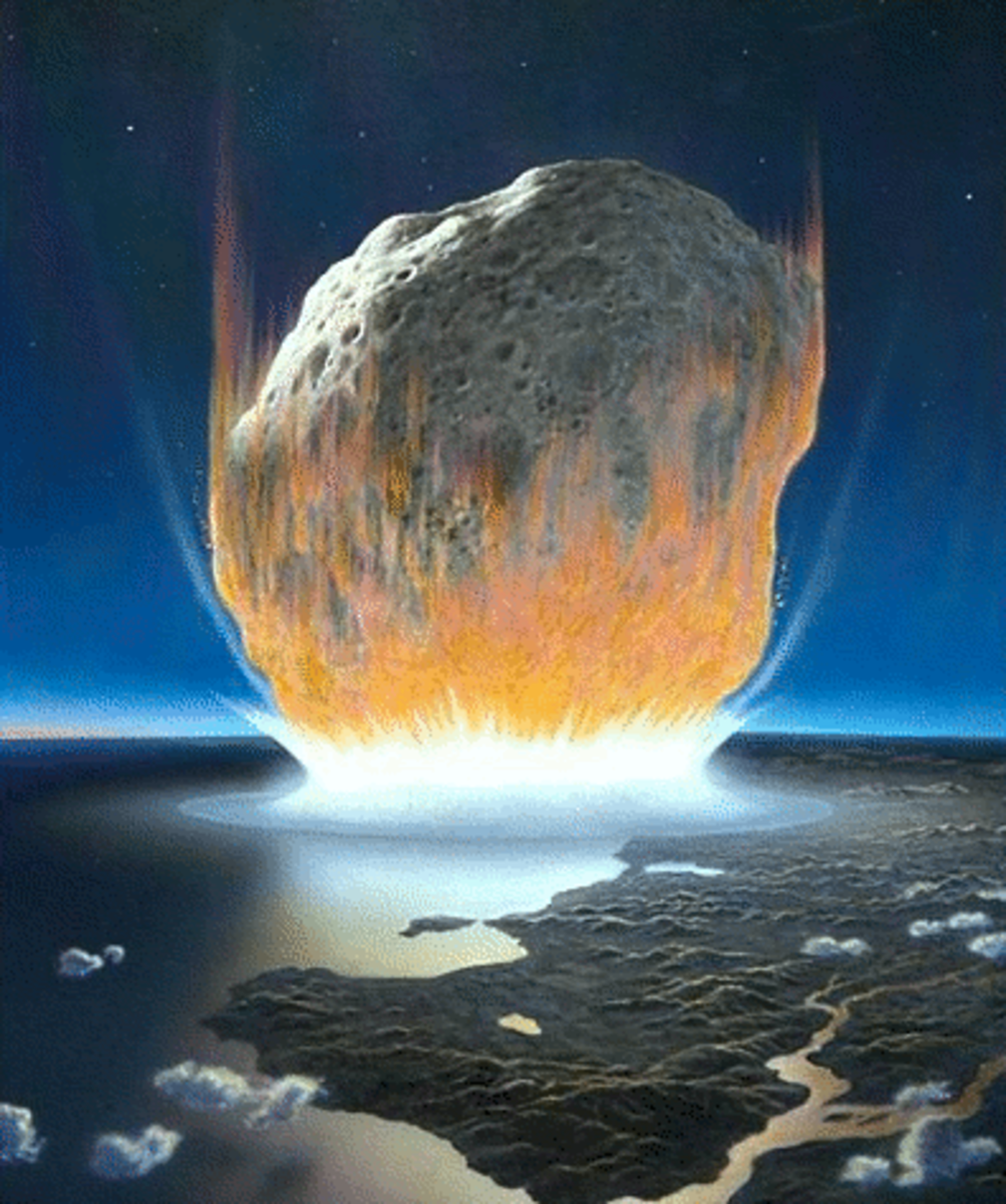 Would an asteroid impact only threaten the weak and feeble?