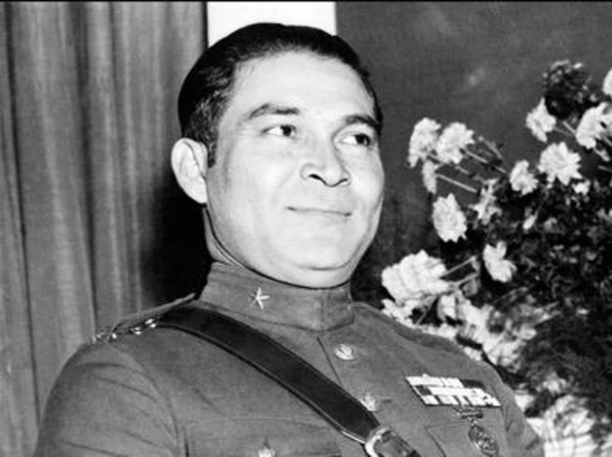 President Batista. Members of his pre-revolution dictatorship were executed.