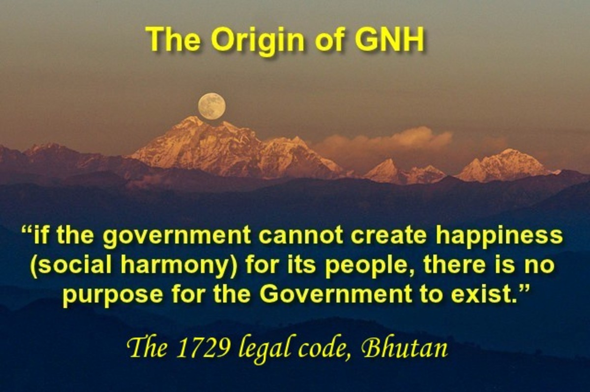 Gross National Happiness - GNH