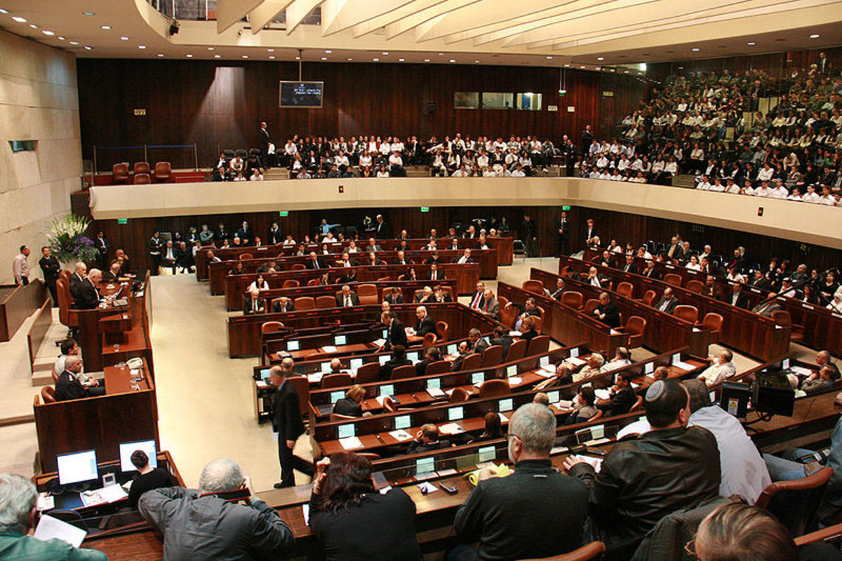 Israel's 120-member unicameral legislature is called The Knesset. It is the Knesset that selects the president and the president selects the prime minister.