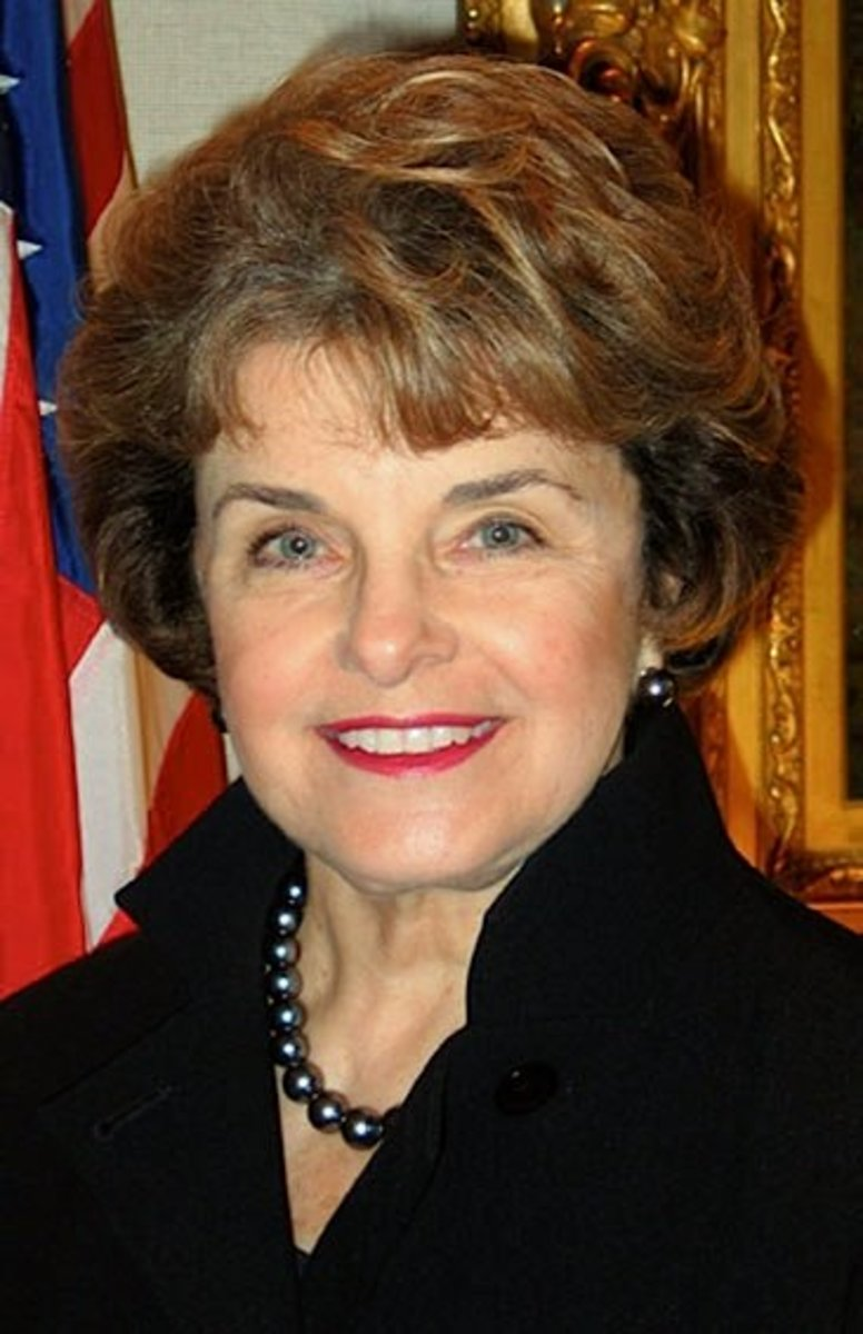 Dianne Feinstein U.S. Senior Senatore from California since 1992 (D).