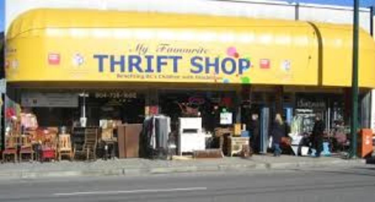 Open a thrift store to raise funds for your local charity