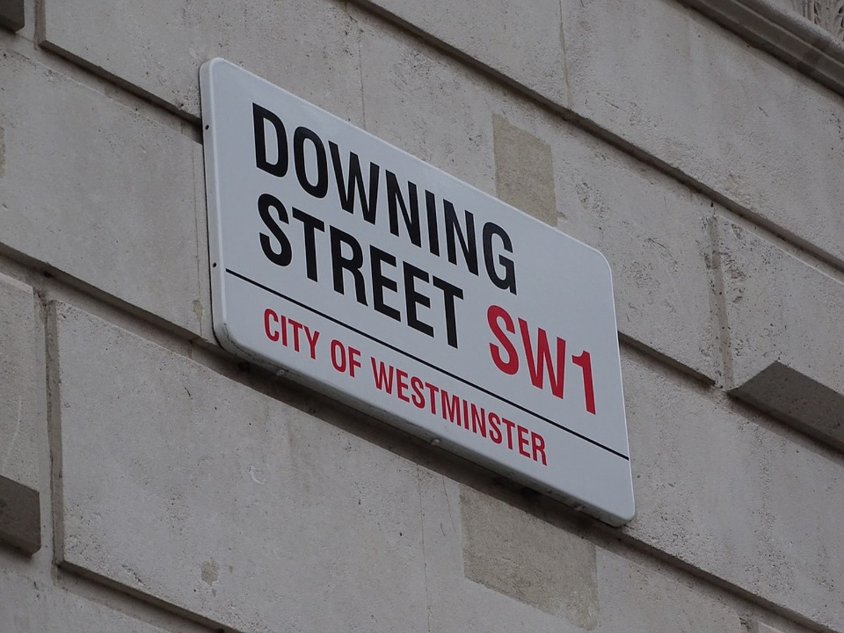 Downing Street has been the official home of the British Prime Minister for over 300 years.  By tradition, the Prime Minister lives at number 10 and the Chancellor of the Exchequer (finance minister) lives next door at number 11.
