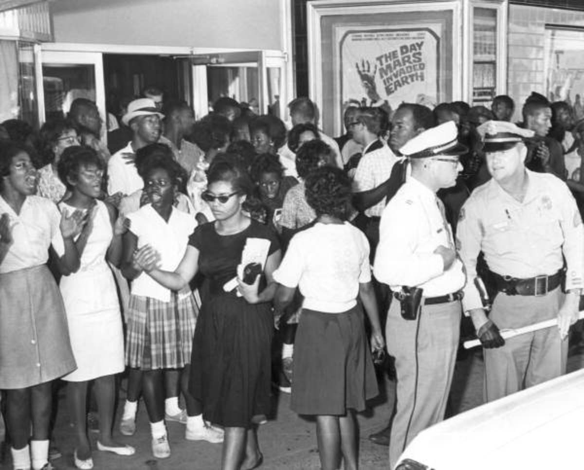 Civil Rights Demonstration in Tallahassee Florida, By Florida Memory via Wikimedia Commons
