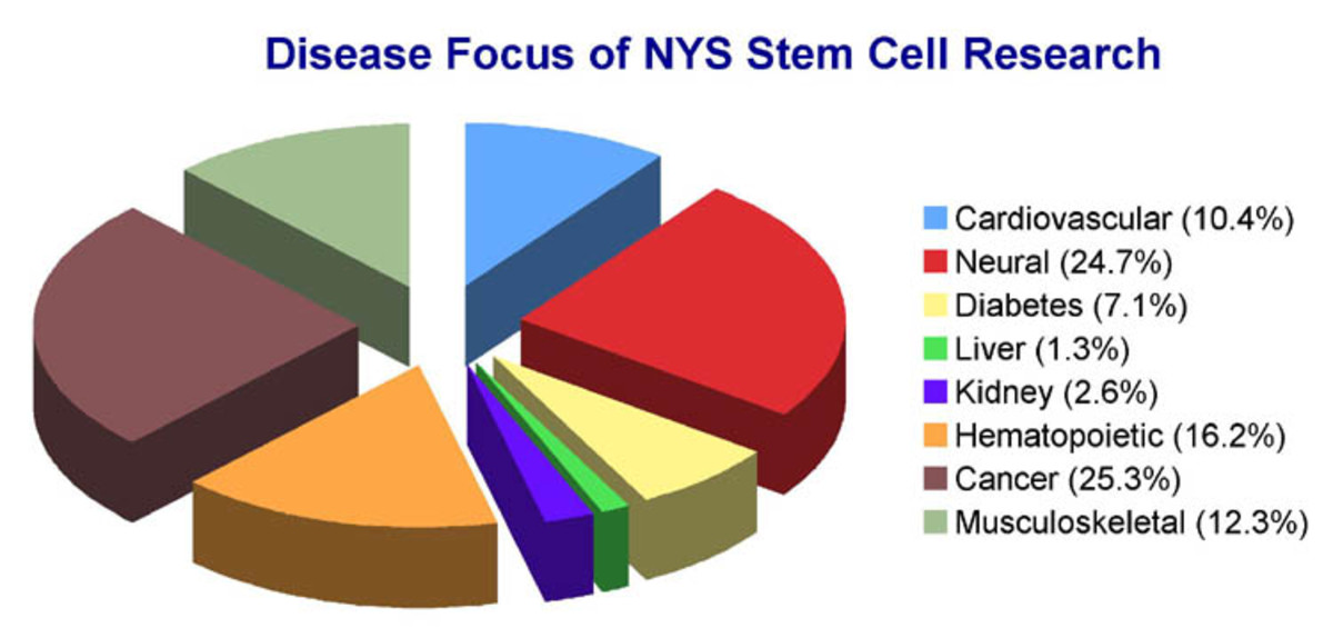 Stem cells are used in a variety of research